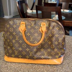 Louis Vuitton Vintage Alma authentic!